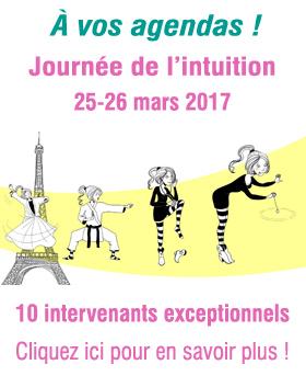 Journée de l'intuition - 25 et 26 mars 2017 à Paris