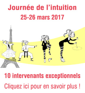 Journée de l'intuition - 25 mars 2017 à Paris