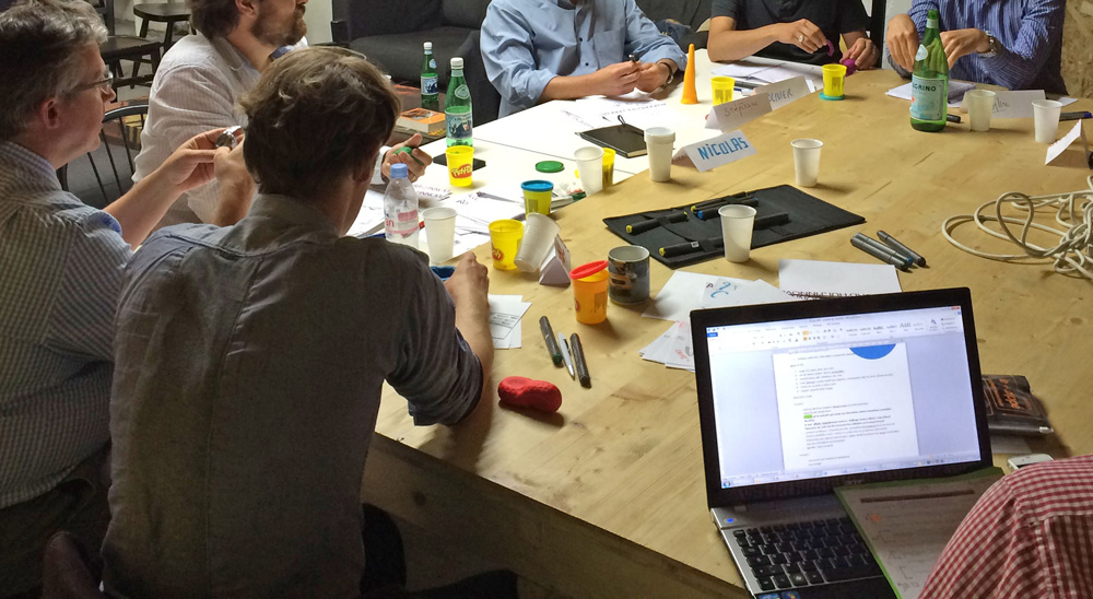 Une journée créative en entreprise avec IRIS I.C.