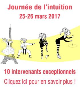 Journée de l'intuition - 25 mars 2017 à Paris